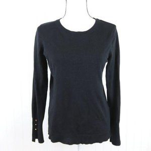 Philosophy Scoop Neck Thin Sweater Size M